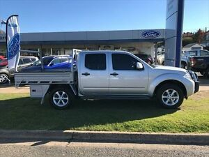 2014 Nissan Navara D40 MY12 Upgrade ST (4x4) Silver 6 Speed Manual Dual Cab Pick-up Young Young Area Preview