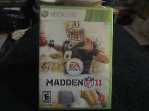 BRAND NEW Madden NFL 11, XBOX 360 Game