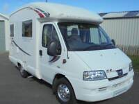 2006 Peugeot Autosleeper Neuvo 2 Berth Motorhome For Sale.End Kitchen.