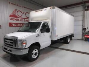 2013 Ford E450 16 Ft Cube Van