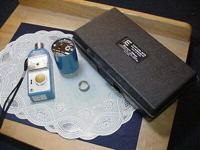 Edmont-wilson Model 60-540 Sound Level Meter And Calibration Kit Used