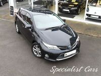 TOYOTA AURIS 1.8 EXCEL VVT-I 5d AUTO 136 BHP WATCH FULL HD VIDE (grey) 2014