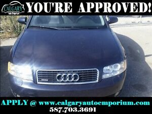 2002 Audi A4 1.8T 4dr All-wheel Drive Quattro Sedan