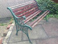 2x Garden Benches