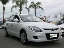 2010 Hyundai i30 FD MY11 SLX cw Wagon White 4 Speed Automatic Wagon Enfield Port Adelaide Area Preview