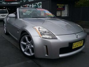2003 Nissan 350Z Z33 Roadster Silver 6 Speed Manual Convertible Greenacre Bankstown Area Preview