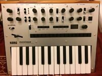 Korg Monologue, Volca Bass, and Volca FM - Barely used Mint condition