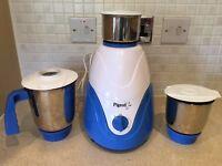 Three steel pot mixer and grinder
