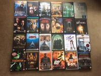 DVDs A great selection of action , thriller and comedy dvds in an unused very clean condition