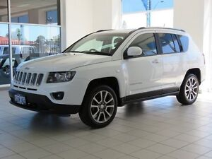 2014 Jeep Compass MK MY15 Limited (4x4) White 6 Speed Automatic Wagon Morley Bayswater Area Preview