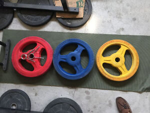 commerical  bumper plates very high end