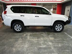 2012 Toyota Landcruiser Prado KDJ150R GX White 5 Speed Sports Automatic Wagon Welshpool Canning Area Preview