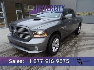 2013 Ram 1500 4WD SPORT CREWCAB Leather,  Heated Seats,  Back-up