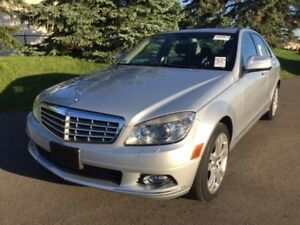 2008 Mercedes-Benz C300|AWD|LOW KMS|ACCIDENT FREE|LEATHER|POWER!