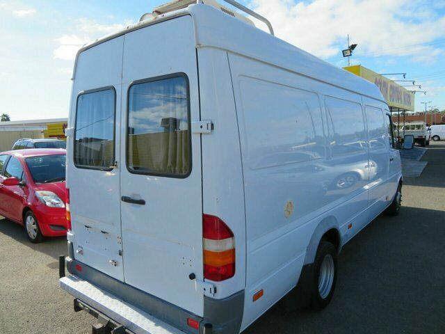 be3c9ef124 1999 Mercedes-Benz Sprinter 412D High Roof White 5 Speed Manual Van ...