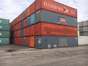 40ft Standard Shipping Containers - Cargo Worthy in Brisbane Hemmant Brisbane South East Preview