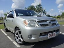 2007 Toyota Hilux KUN16R MY07 SR Sterling Silver 5 Speed Manual Utility Gunn Palmerston Area Preview