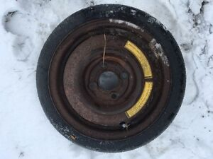 Temporary 4 bolt spare tire