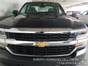 NEW 2018 Chevrolet Silverado 1500 Work Truck DOUBLE CAB 4WD V6