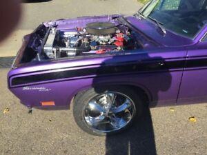 1969 notch back Barracuda