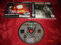 SILENT HILL PLAYSTATION 1 COMPLET RARE CLASSIC
