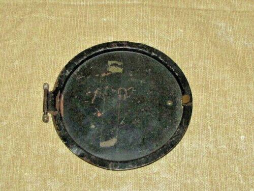 Antique Mantle Clock Back Door Parts