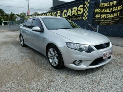2010 Ford Falcon FG XR6 Silver 6 Speed Sports Automatic Sedan Kippa-ring Redcliffe Area Preview