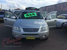 2004 Ford Territory SX Ghia (4x4) Silver 4 Speed Auto Seq Sportshift Wagon Lansvale Liverpool Area Preview