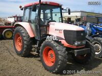 Kubota M108 4WD Tractor with Cab