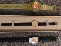 3 Collectors Watches, part of a collection (never used) £15 each