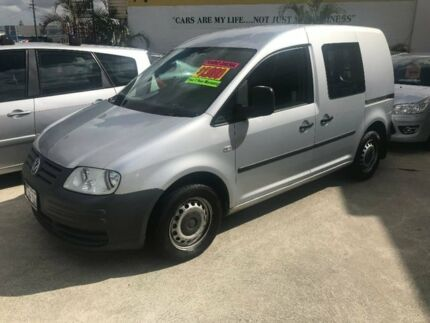 2005 Volkswagen Caddy 2KN SWB Silver 5 Speed Manual Van St James Victoria Park Area Preview