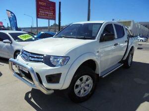 2011 Mitsubishi Triton MN MY11 GL-R White 4 Speed Automatic 4D Utility Holroyd Parramatta Area Preview