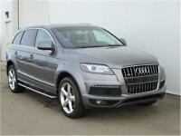 2011 Audi Q7 3.0L S-Line Loaded Leather/Sunroof Low Payments!