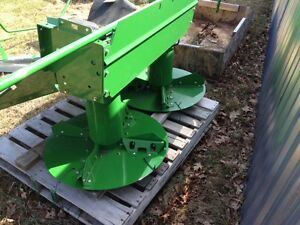 new John Deere Chaff Spreader from 9570 combine