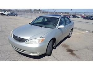 2003 Toyota Camry XLE Cuir, Toit, Mags, PROPRE!