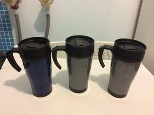 3 insulated coffee cups $1 each Paralowie Salisbury Area Preview