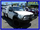 2005 Holden Rodeo RA LX White 5 Speed Manual Cab Chassis
