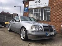 1994 MERCEDES E500 Only 50k Miles, FSH, German Supplied new, W124 500E LHD