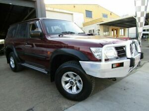 2004 Nissan Patrol GU III MY2003 ST Red 4 Speed Automatic Wagon Moorooka Brisbane South West Preview