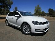 2013 Volkswagen Golf VII MY14 110TDI DSG Highline White 6 Speed Sports Automatic Dual Clutch Old Reynella Morphett Vale Area Preview