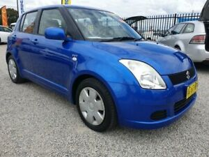 2006 SUZUKI SWIFT 5D HATCH, AUTOMATIC, ONLY 115,865KMS, SERVICE HISTORY, 2021 REGO, JUST SERVICED!! Penrith Penrith Area Preview