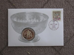 Canadian Stanley Cup Coin and Stamp Set, 1993