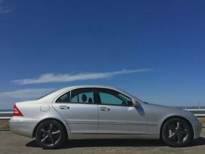 2001 Mercedes-Benz C240 W203 Elegance Brilliant Silver 5 Speed Automatic Sedan Norlane Geelong City Preview