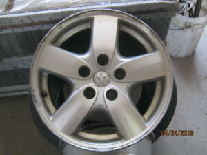 4 - 16 inch Alloy rims off a  2007 Dodge Caravan