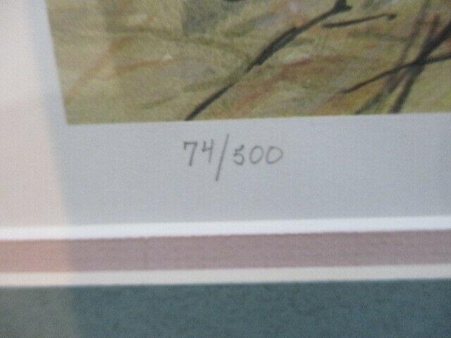 "Framed ""A Precious Moment"" 74/500 by Jeffery Alan Hoffman"