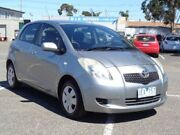 2006 Toyota Yaris NCP91R YRS Grey 5 Speed Manual Hatchback Maidstone Maribyrnong Area Preview