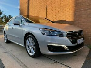 2017 Peugeot 508 MY17 Allure HDi Touring Silver 6 Speed Automatic Wagon Phillip Woden Valley Preview