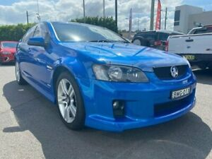 2010 Holden Commodore VE MY10 SV6 Blue 6 Speed Sports Automatic Sedan Cardiff Lake Macquarie Area Preview