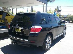 2010 Toyota Kluger GSU45R KX-S Black Sports Automatic Wagon Lansvale Liverpool Area Preview
