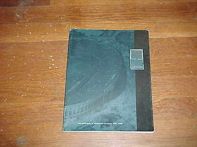 1990 Pitt Panthers Football Media Guide